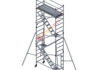Single Width Aluminium Scaffolding With Stairway