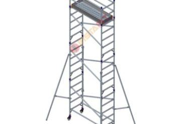 Single Width Aluminium Scaffolding Without Stairway
