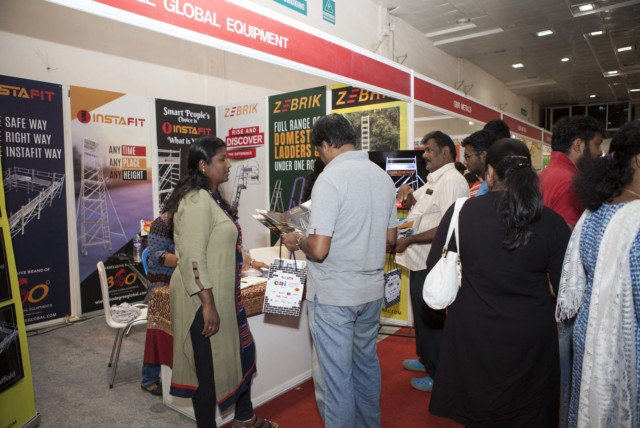360 Degree Global Equipment @ CAI EXPO - SEP 2017 - Chennai Trade Center