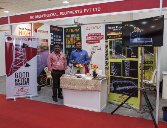360 Degree Global Equipments @ Coimbatore CIA EXPO