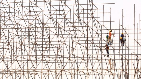 Unique ways to use your scaffolding
